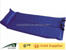 Hot sale camping 2cm thickness inflating mat sleeping pad