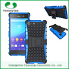 Wholesale Alibaba tire pattern TPU PC hybrid case phone accessories 2015 for Sony Experia M5