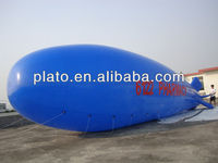 remote control inflatable airship with required logo