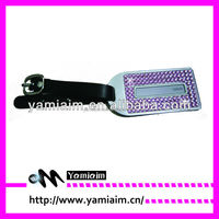 Yiwu Wholesale Cheap Rhinestone Luggage tag