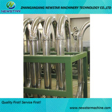 pipeline dryer machine for pet bottle recycling in flakes