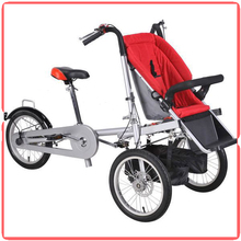 Can be a bike for mother and baby useful good folding bike stroller