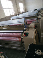 double pump double nozzle water jet loom /textile weaving machine
