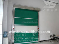 Colorful design automatic rolling gate