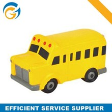 Fashion Modern School bus PU Anti Stress Toy