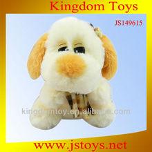 hermosa juguetes de peluche del perro pug