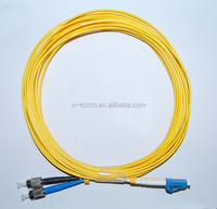 China Factory Directly Supply LC/ST SM Duplex Fiber Optic Patch Cord 2mm with Best Price