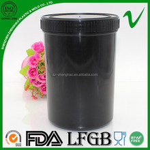 HDPE wholesale empty cylindrical plastic container