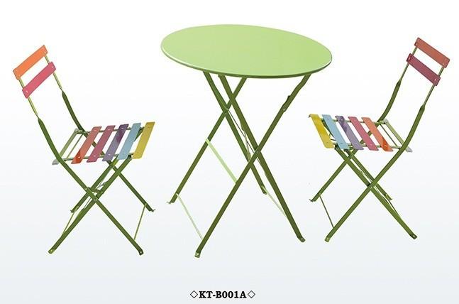 Colorful Folding Metal Bistro Table Chair Set Buy Cheap Bistro Set Folding