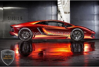 good quality car vinyl wrap with air bubble free size 1.52*20 m