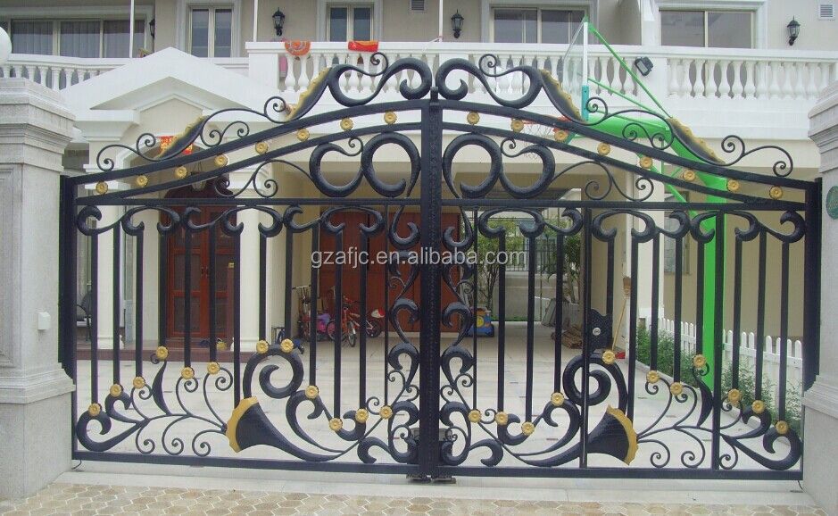 Simple Metal Garden Gate ~ Basic Wood Gate Design