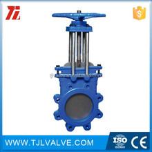Wafer type timer auto drain valve ce cer gate valve