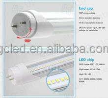CE 1750lm milky cover 20W 120pcs SMD2835 chip 1.2m 4ft T8 LED Tube 3 years warranty