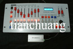 Micro Transmitter and Receiver Tracking/DMX 512 Wireless LED Controller