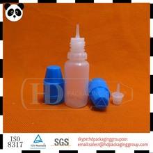10ml pe frasco gotero de plástico líquido e aromatizantes tabaco botella