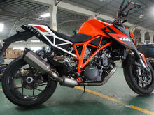 KTM 1290 Duke 2014 ATV motorcycle exhaust muffler complete system