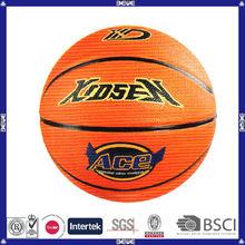 hot sell promotional customized logo basketball in bulk