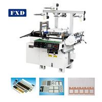 Screen Plastic Film Rolling Cutting Machine