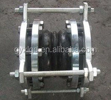 Rubber Expansion Joint with Flanges Integrated in Elastomer with Holes