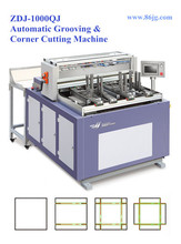 ZDJ-1000QJ Shoe Box Making Machine Corner Cutting & Notching Machine