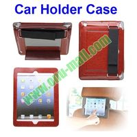 Leather Cover for iPad Air/iPad 4/3/2 Car Holder