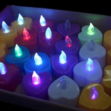 Wholesale Novelty Lamp LED Night Light For Party Switch Control Flameless Candle Bulk