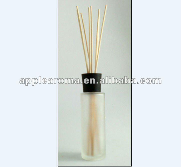 Garrafa de vidro elegante para fragrância cana difusor