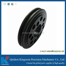 turning pom part plastic drilling component rohs compliance and anodizing finish