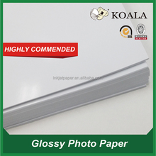 photo paper manufacture ,115g/135g/150g/180g/200g/230g/260g A4 High Glossy Photo Paper