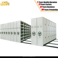 2015 Metal Manual Archives Mass Steel Shelf Compact Mobile Shelving for Dubai