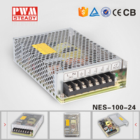 Mean well 100W 24V power supply NES-100-24/100w 24v single output power suppies/100 watt switch mode power supply