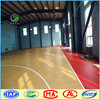 Indoor wood PVC basketball court flooring roll