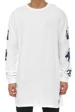 Long Sleeve T-Shirt Design Tall Tee White