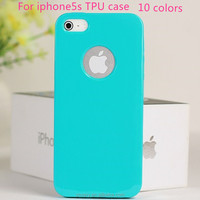 hot mobile phone cover for iphone 5 smart phone ultra-thin tpu back shell for apple iphone 5s case alibaba express