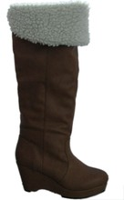 Fashion lady knee high coldproof snow boot
