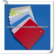 lámina de plástico ABS de color rígido