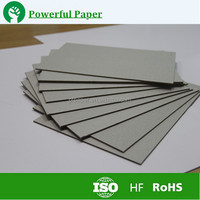 waste paper pulp make 3mm thick Grey Paper Board