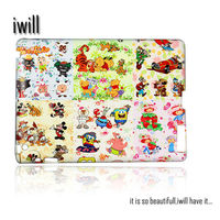 plastic hard back case cover for ipad 2/3/4. made by china manufacturer