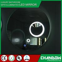CSB808 Bathroom Magnifier Glass Antique Illuminated LED Decorative Wall Mirror