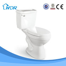 Class A quality chaozhou bathroom fitting ceramic siphonic sanitary chinese manufaturer two piece toilet