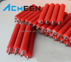 Solvent resistance general PU printing ink rollers,polyurethane roller