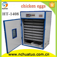 Hot selling incubator for parrot egg hatching automatic goose egg incubator for sale HT-1408 for selling