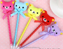 Best selling Hot Chinese products lovely feather ballpoint pen wholesale
