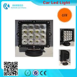 Factory Direct 48W C-ree LED Work Light Bar Flood Beam Offroad Driving Mining Truck UTE ATV 4X4
