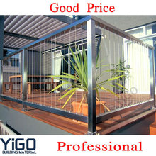 Chinese aluminum railing prices / stainless steel aluminium balcony railing