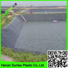 high quality HDPE waterproof fish pond liner custom pond liners produce as your size requiremnent