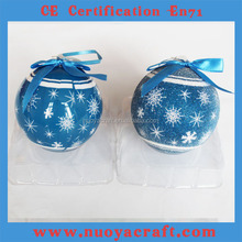 2015 colored foams ball ,cheap popular frosted christmas ball