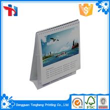 Chinese arabic desk calendar 2015 printing