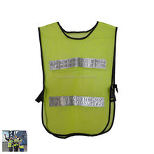 2015 hot sell best quality elastic 3m reflective safety vest