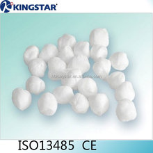 High quality medical round gauze swab alcohol cotton ball